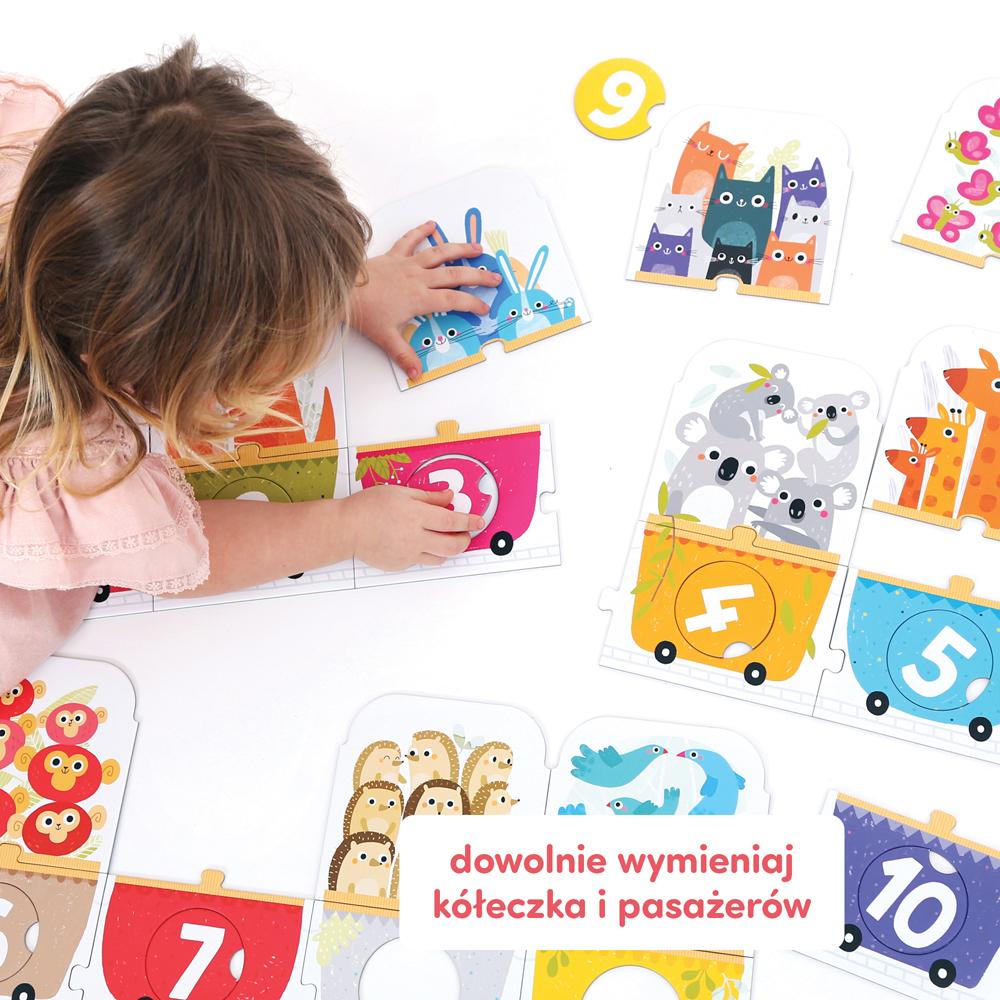 edukacyjne puzzle dla 3 latka