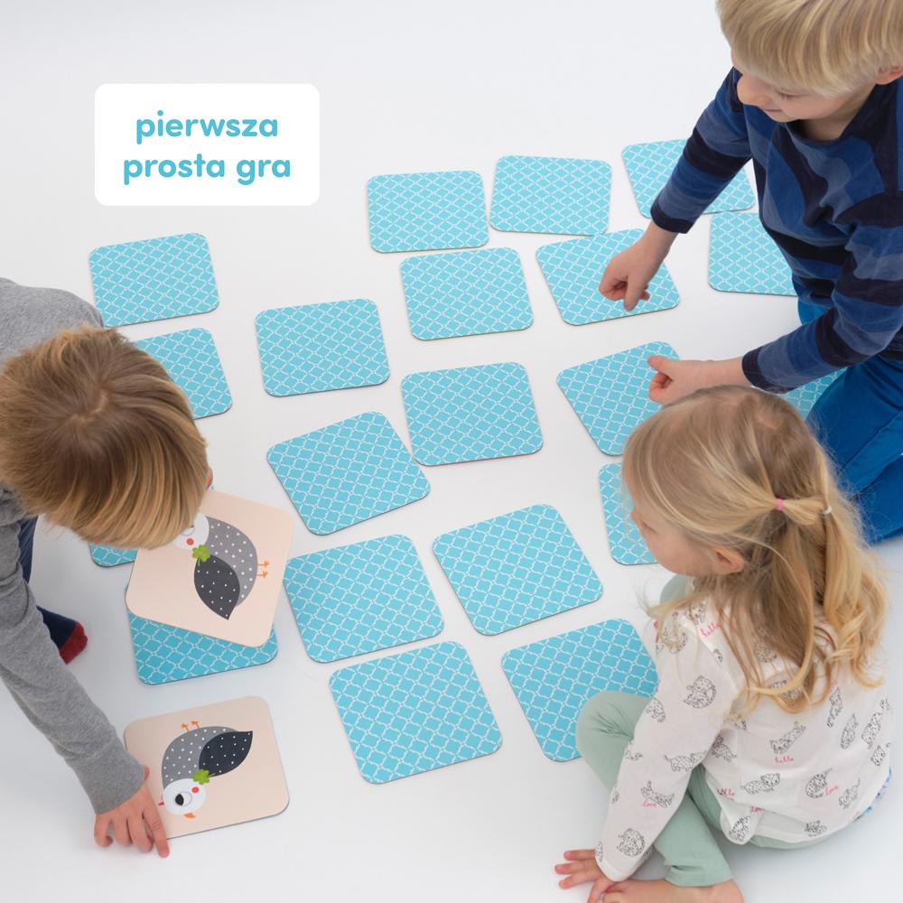 pierwsza gra rodzinna - memory
