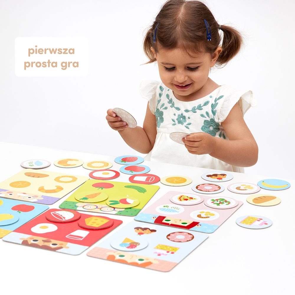 pierwsza gra dziecka CzuCzu Smacznego