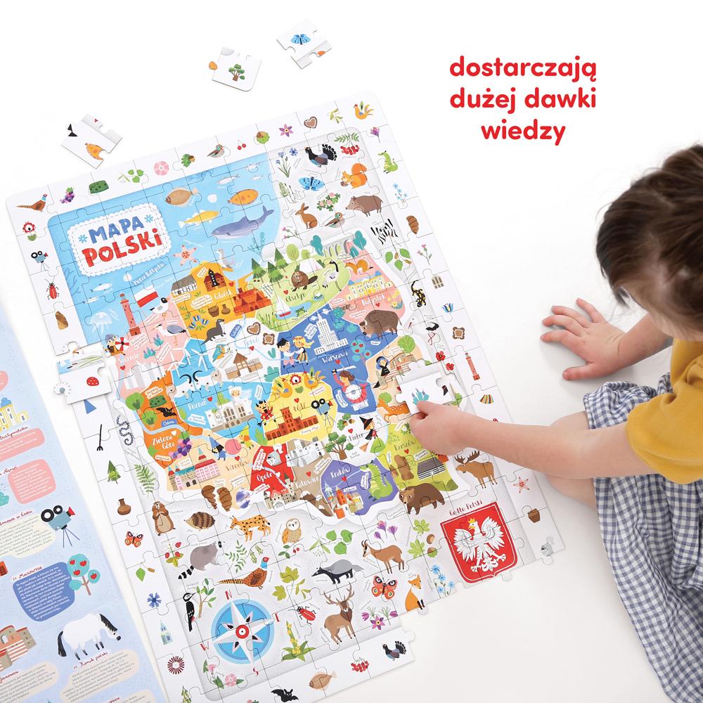 puzzle i ciekawostki o Polsce