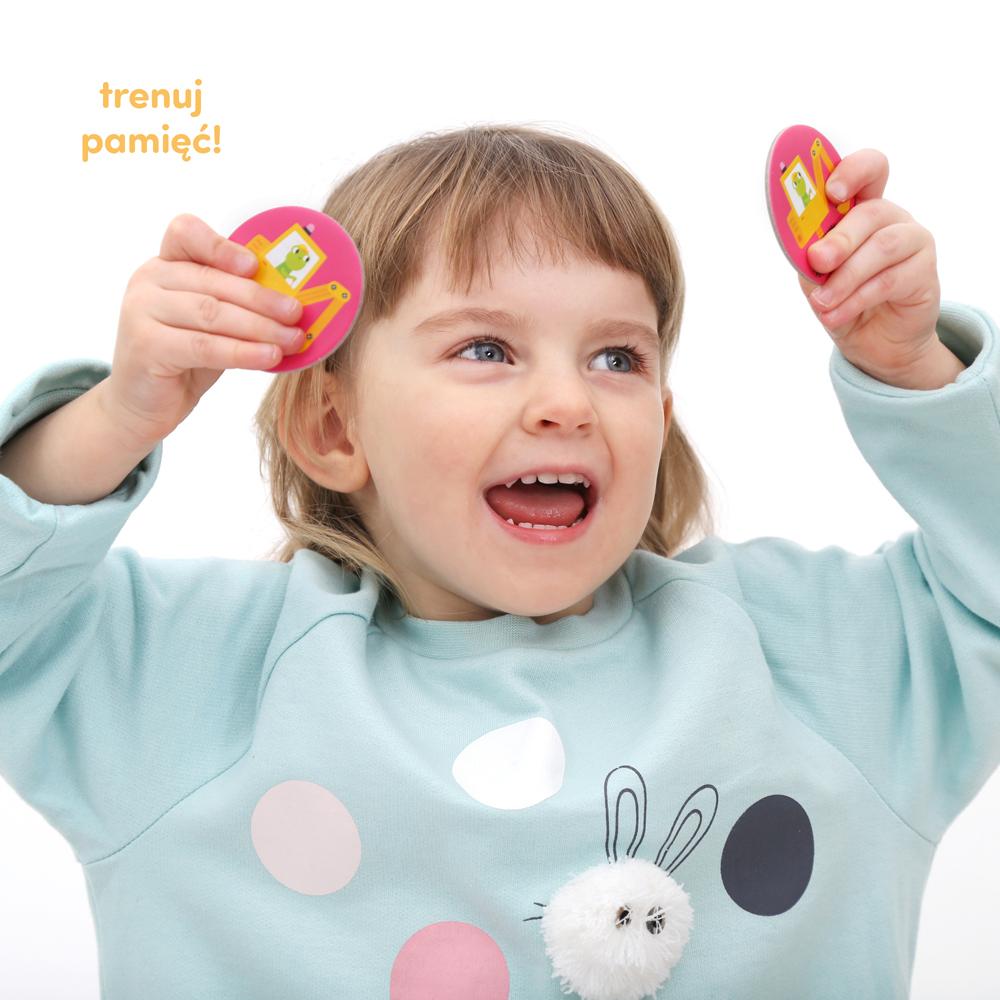 gra dla dzieci memory koparka