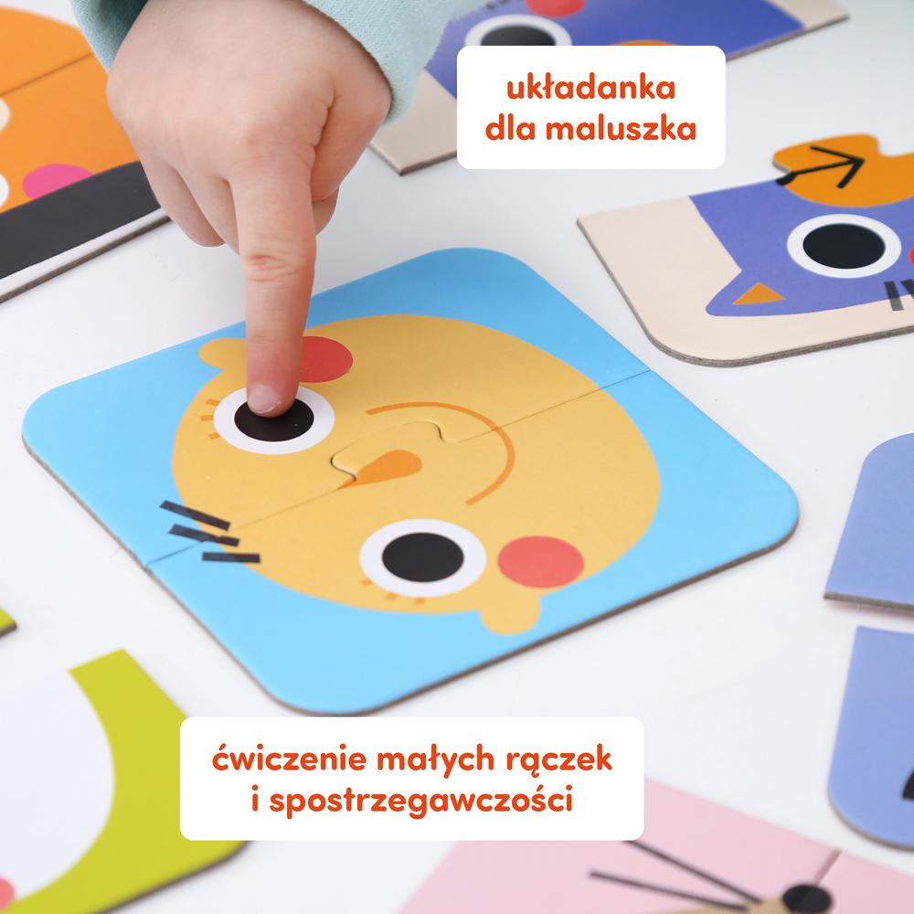 puzzle 2 elementowe buzie