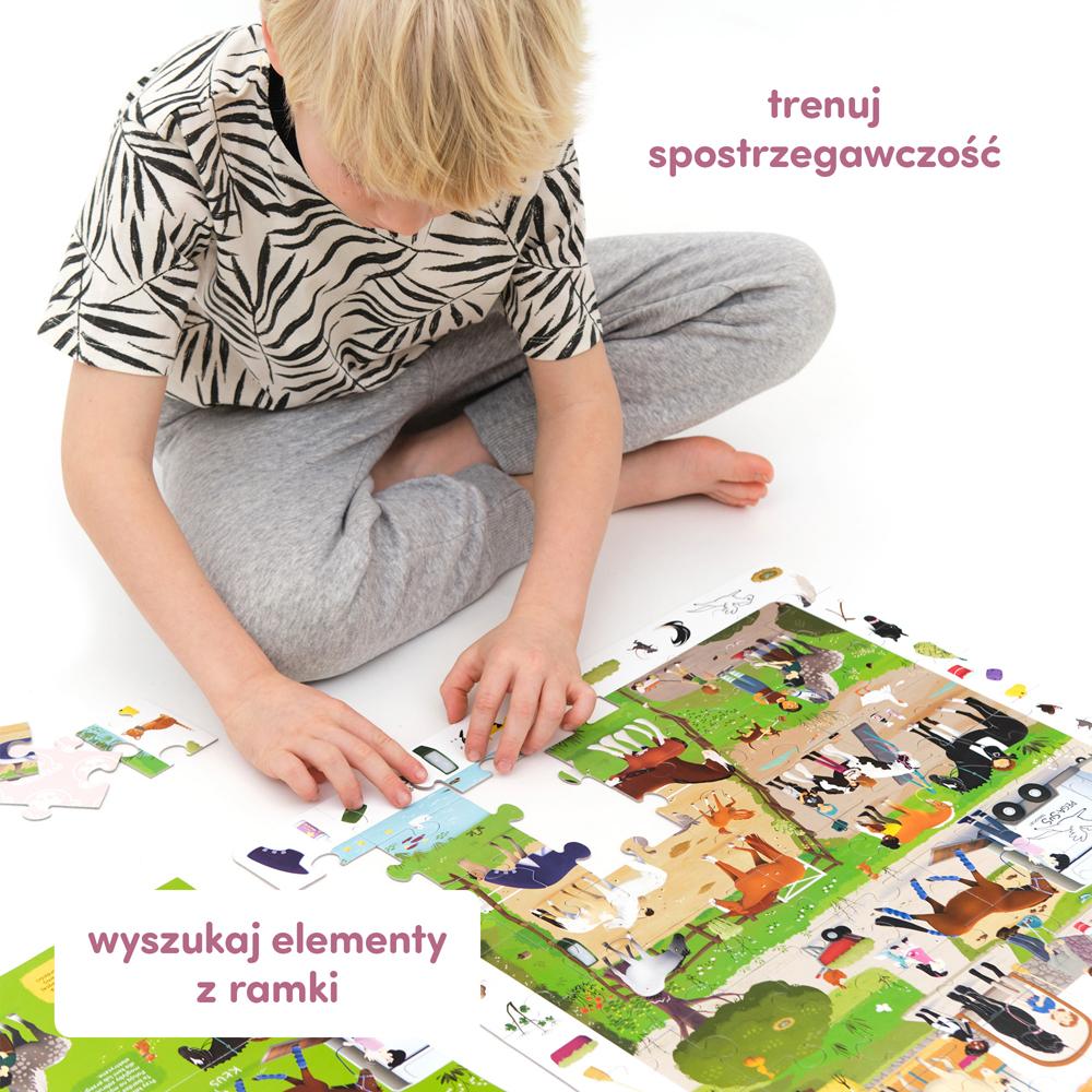 puzzle konie