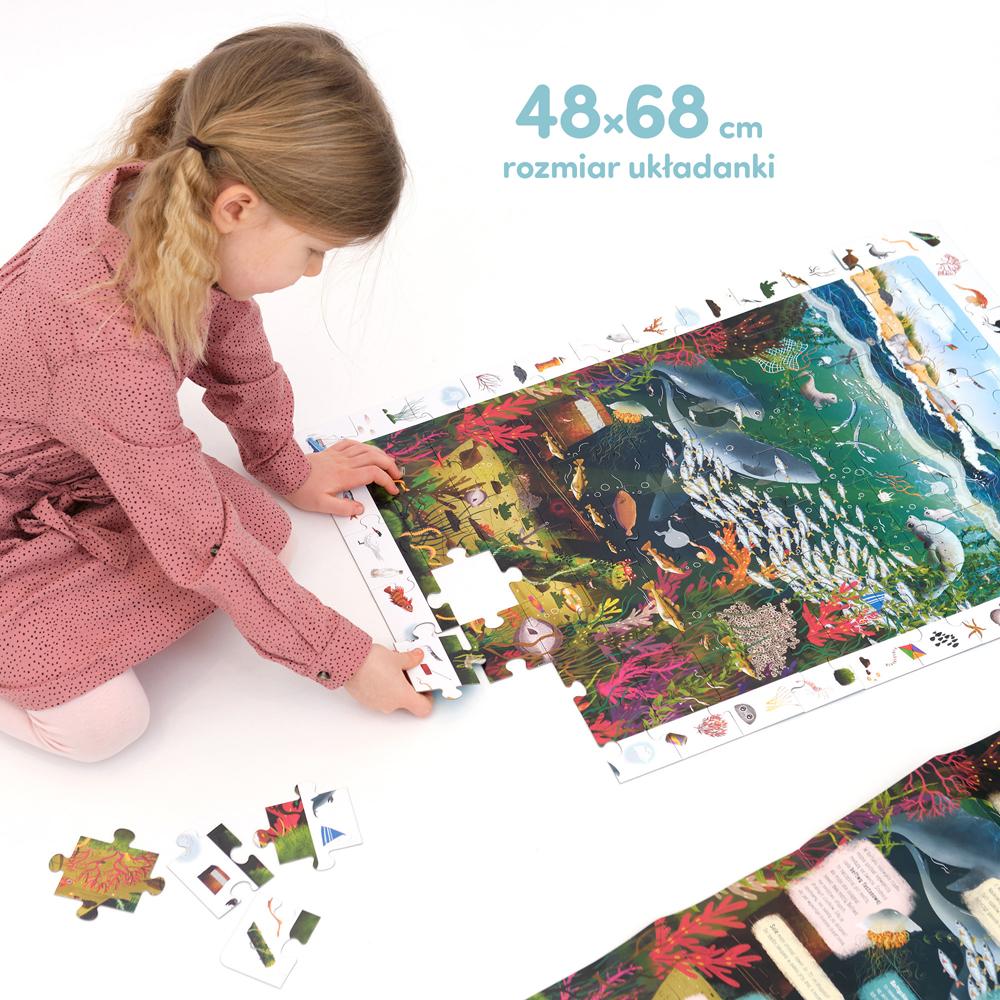 wielkie puzzle Bałtyk