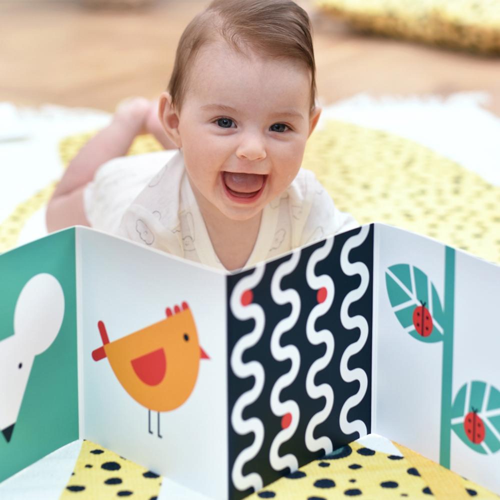 książeczka kontrastowa dla niemowlaka