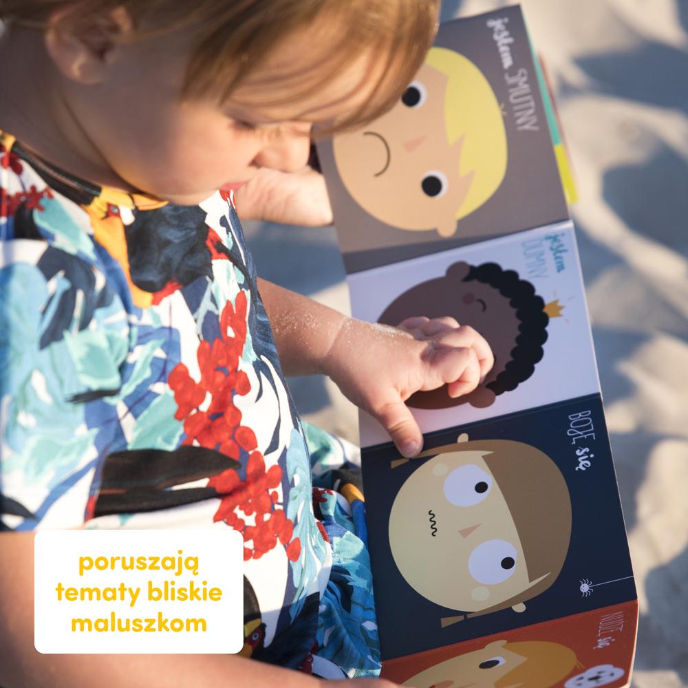 czytanie z maluchem w podróży