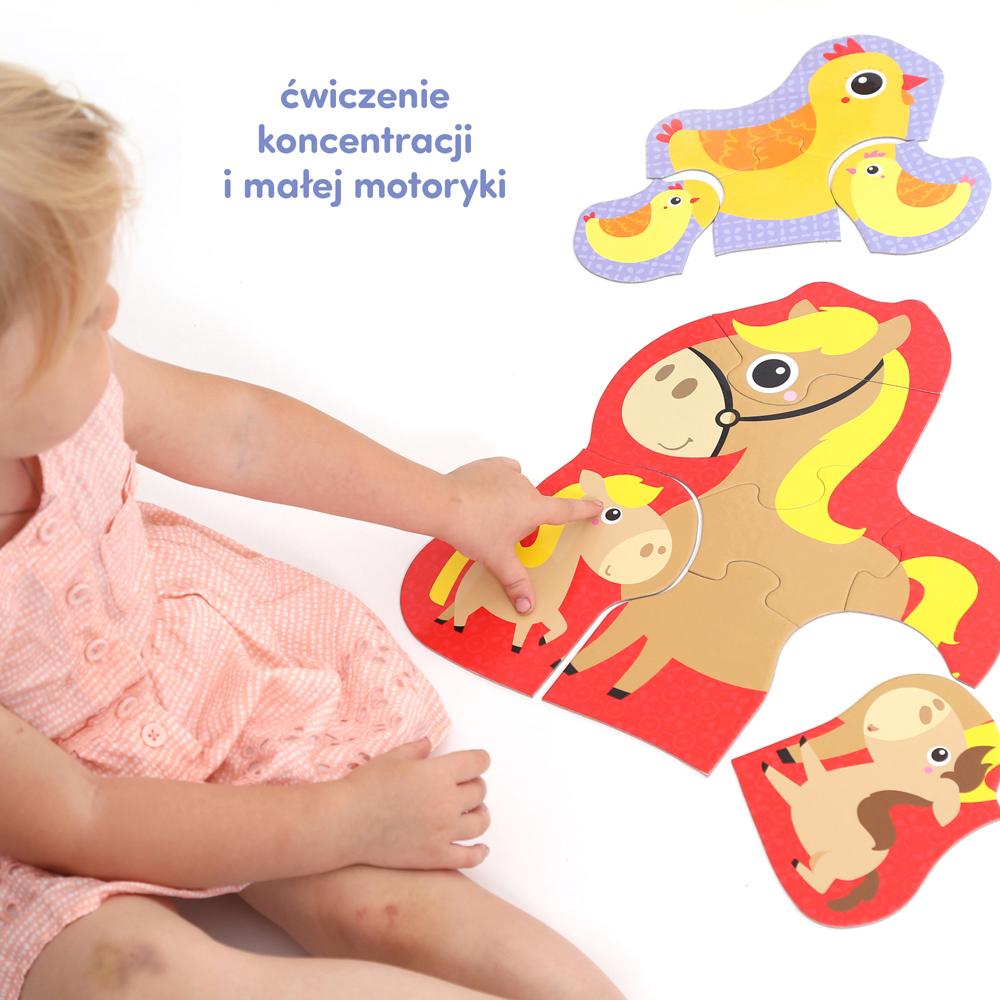 puzzle do ćwiczenia dla dzieci