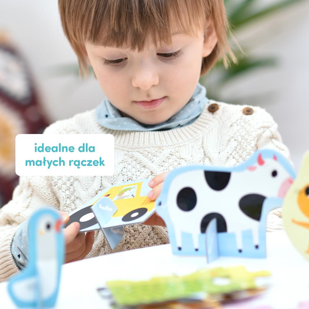 figurki zwierząt wiejskich dla dzieci