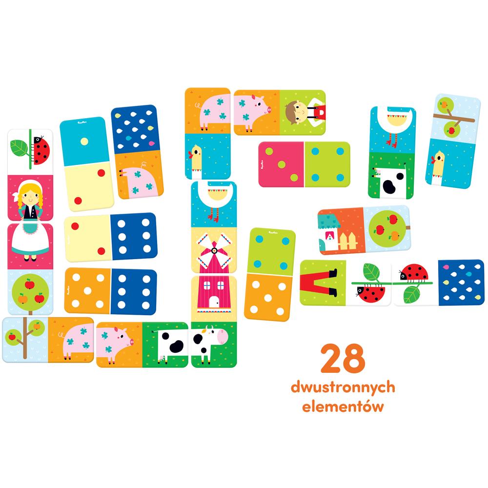 domino obrazkowe dla dzieci 2+