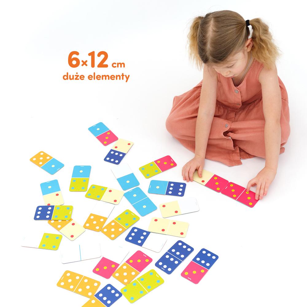 klasyczne domino dla dzieci