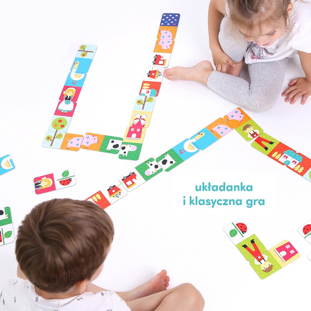 gra i układanka dla najmłodszych