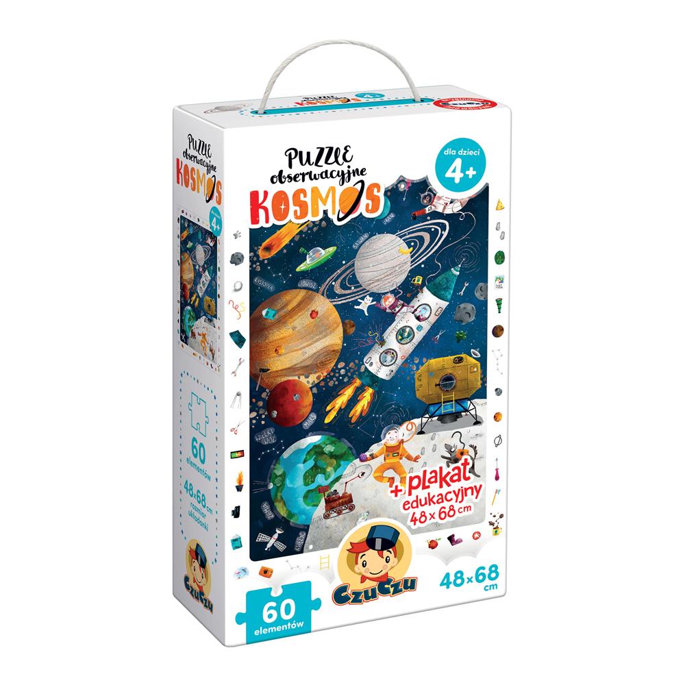 CzuCzu Puzzle obserwacyjne Kosmos dla dzieci 4+