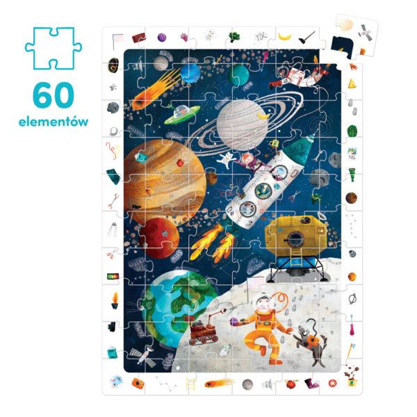 puzzle dla dzieci 60 elementów