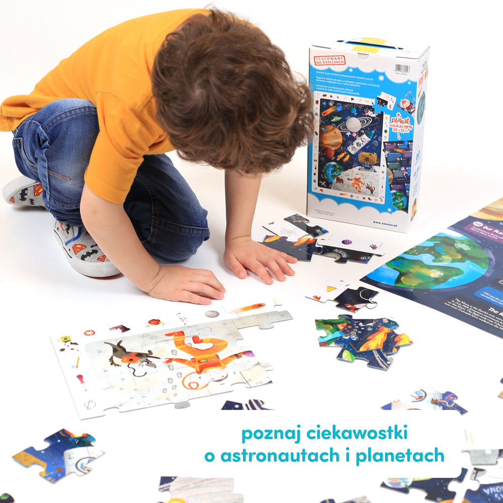 kosmiczny prezent dla dziecka 4 lata