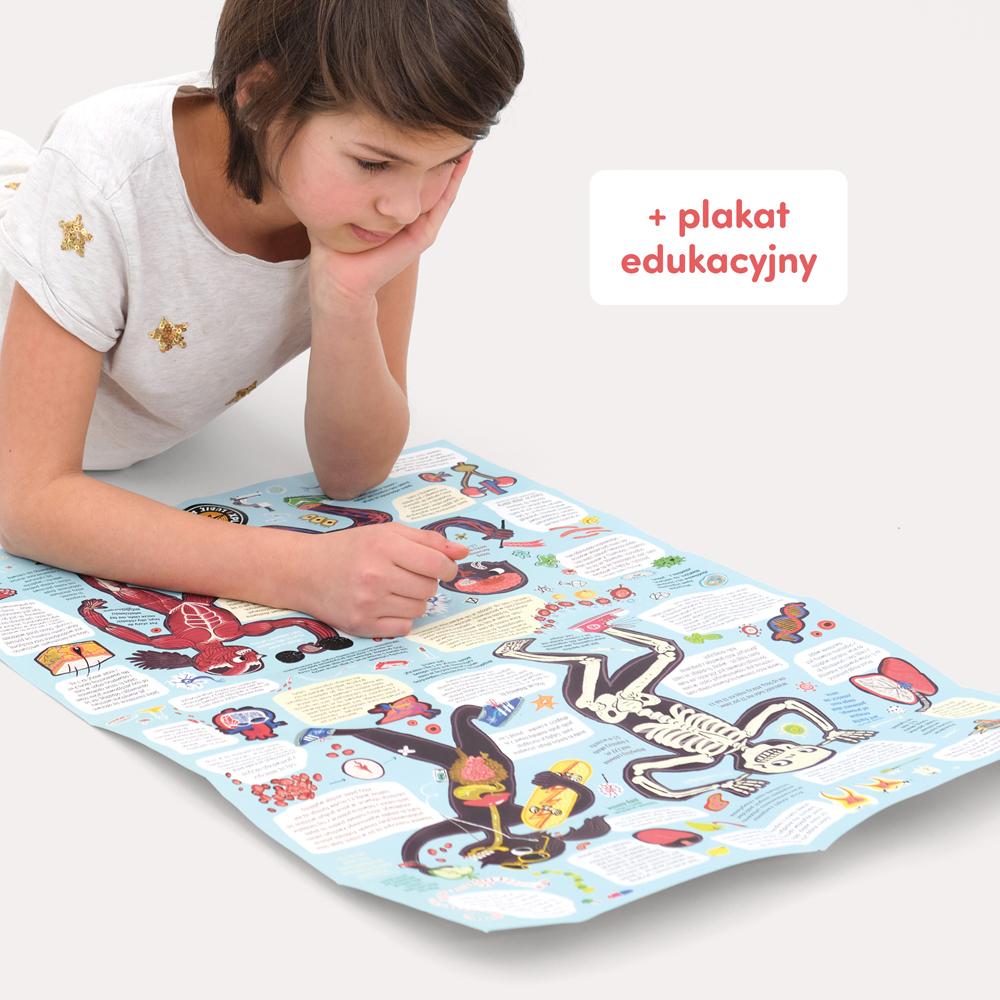 puzzle z plakatem dla uczniów