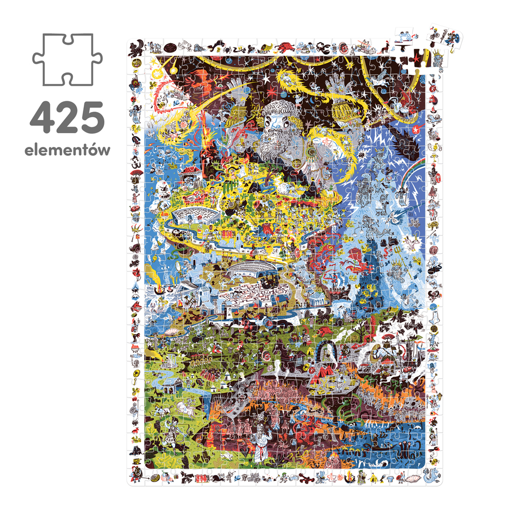 puzzle mity greckie 425 elementów
