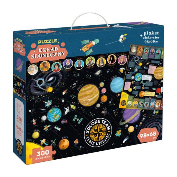 Kosmiczne Puzzle Układ Słoneczny Xplore Team
