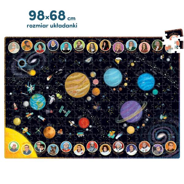 puzzle rodzinne kosmos