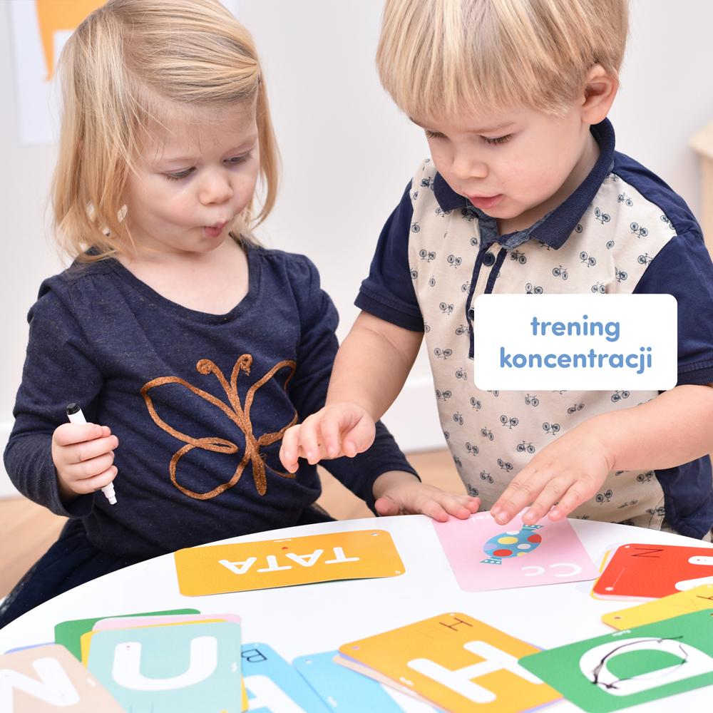 trening koncentracji dla dzieci