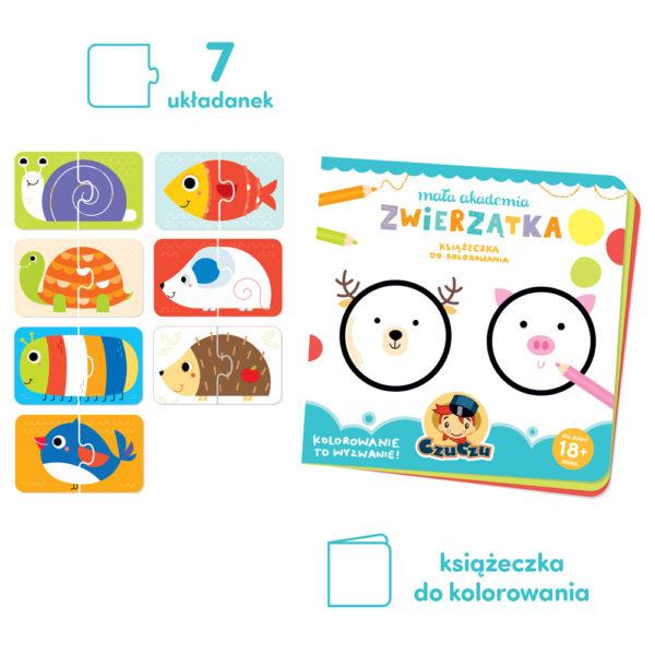 kreatywny i edukacyjny zestaw dla malucha