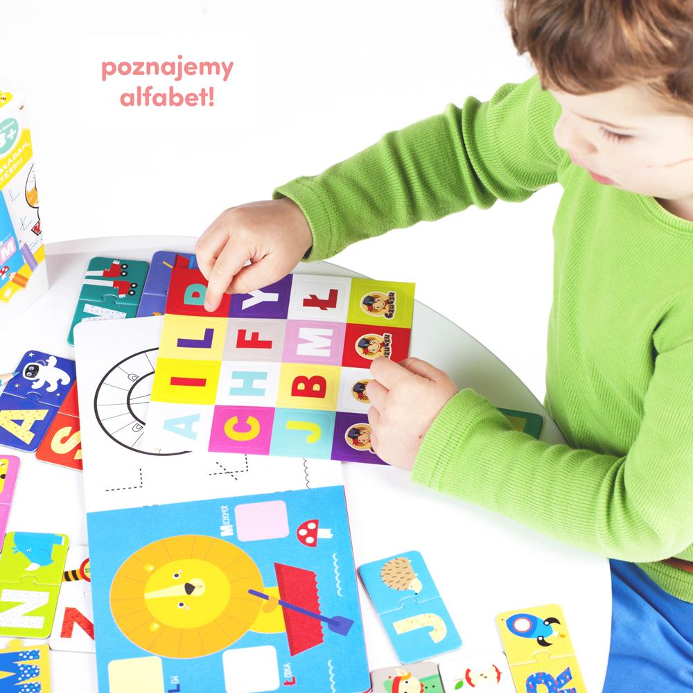alfabet dla dzieci 3+