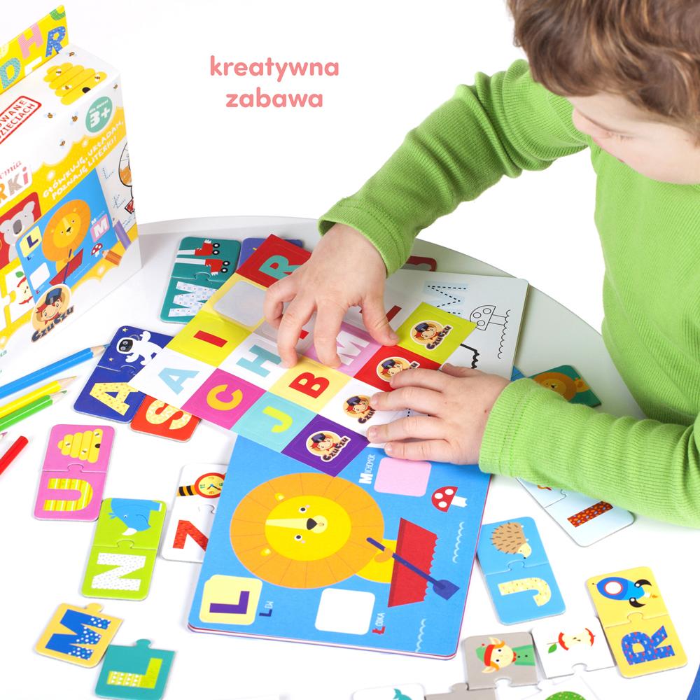 Zabawa w poznawanie liter dla dzieci