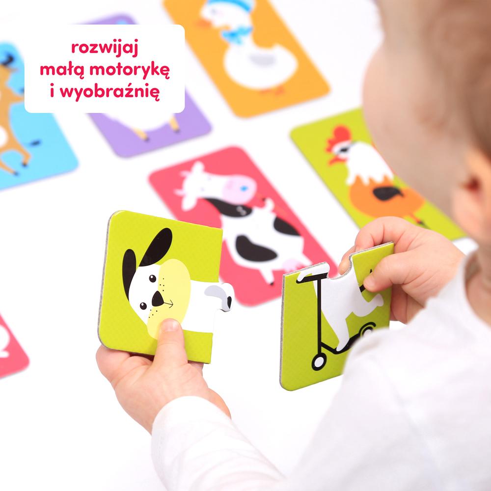 puzzle do pary zwierzątka