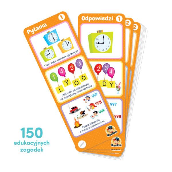 150 edukacyjnych zagadek dla dziecka 5+