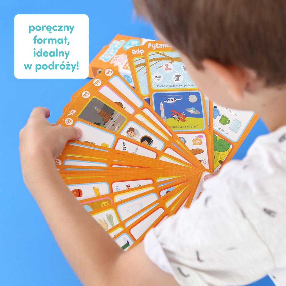 Poręczne Zagadki dla dzieci 5+ 150 zagadek