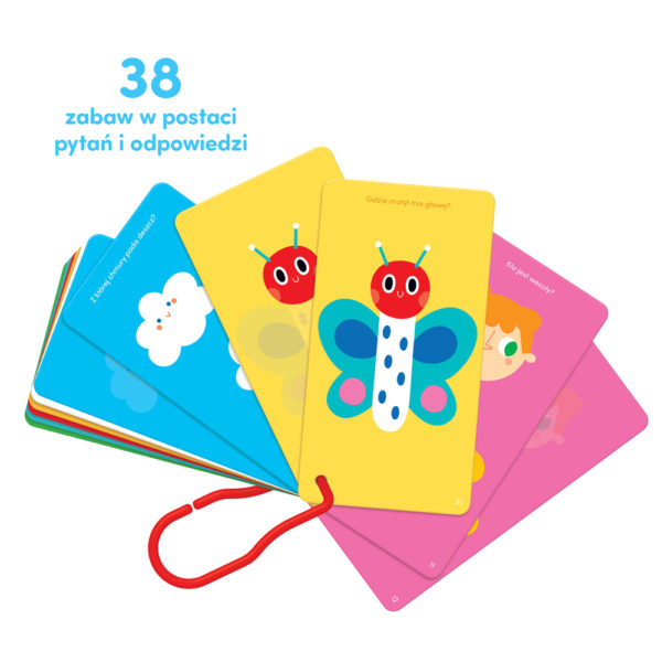 38 kolorowych zagadek dla dziecka 1,5 roku