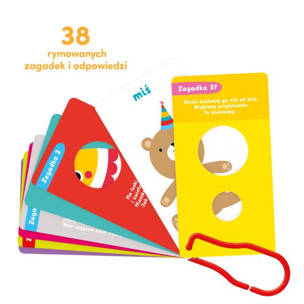 38 rymowanych zagadek dla dzieci 2 lata