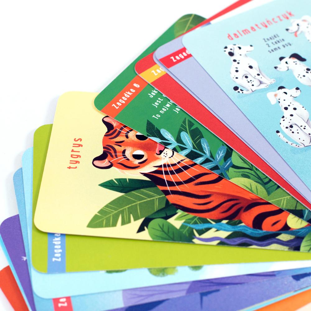 Dalmatyńczyk i tygrys - zagadki 4+
