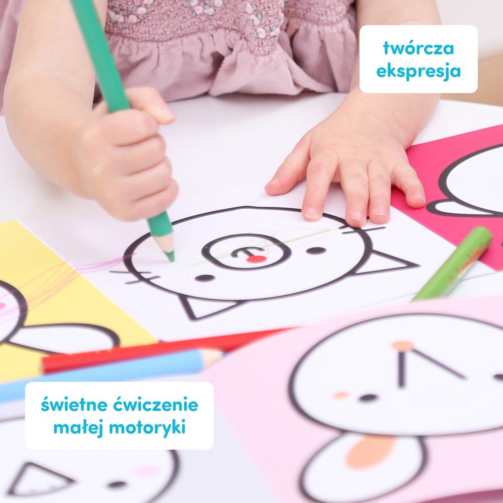 pierwsze kolorowanki dla dzieci w wieki 1,5