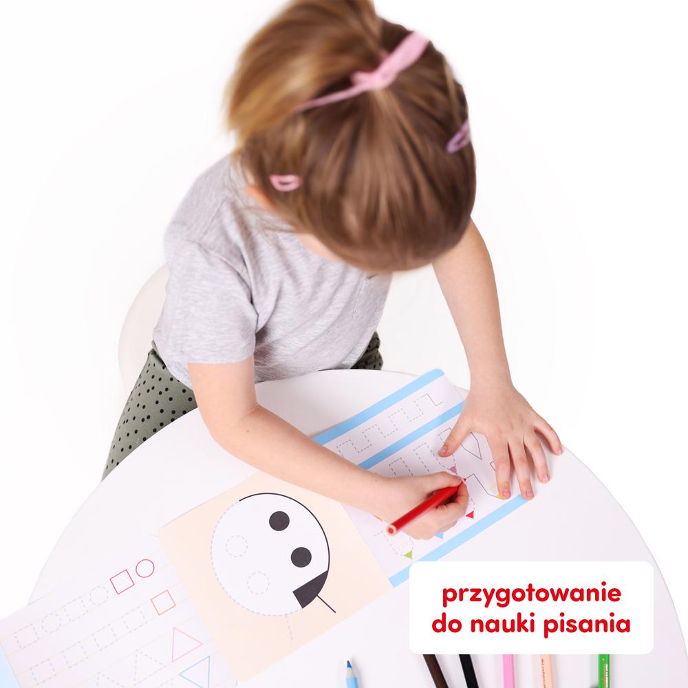 szlaczki przygotowanie do nauki pisania