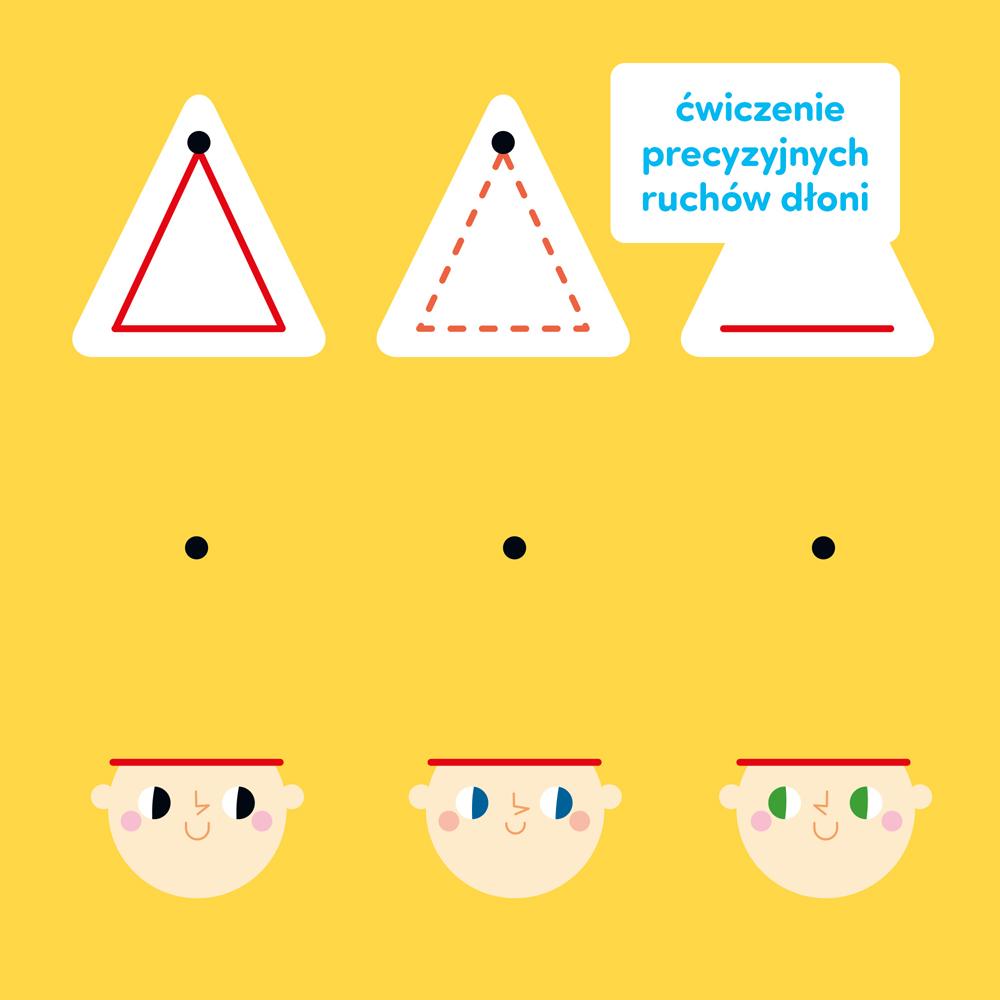 ćwiczenia grafomotoryczne dla dzieci szlaczki