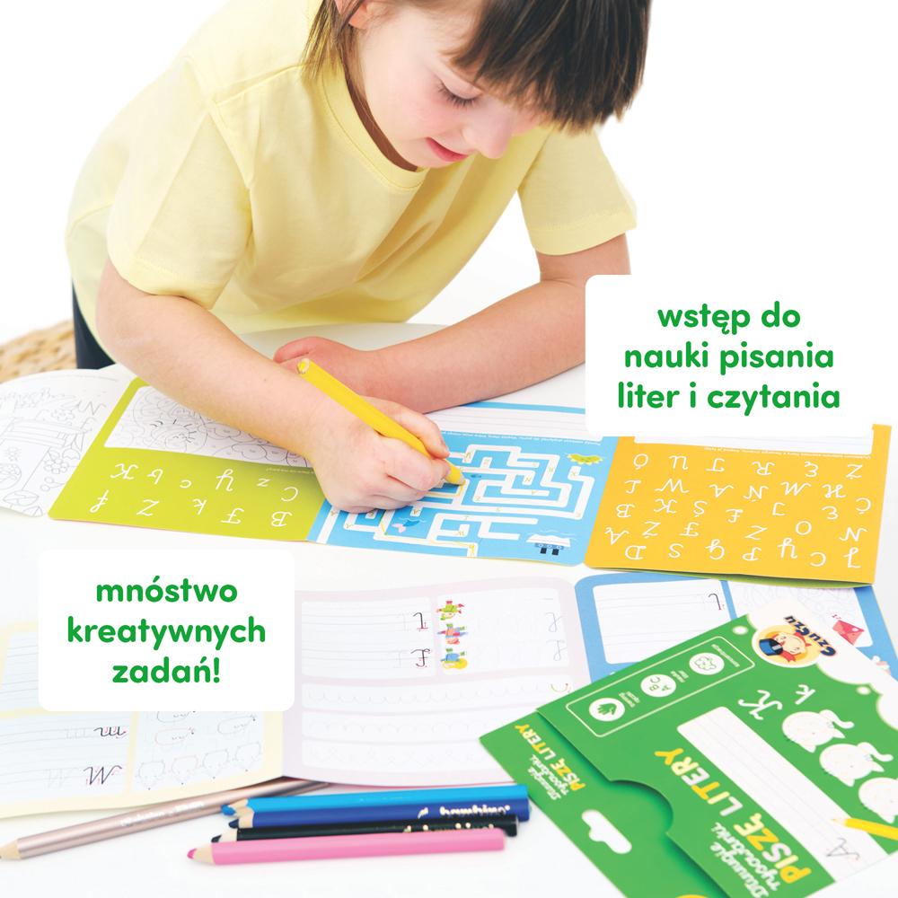 jak nauczyć dziecko pisać litery