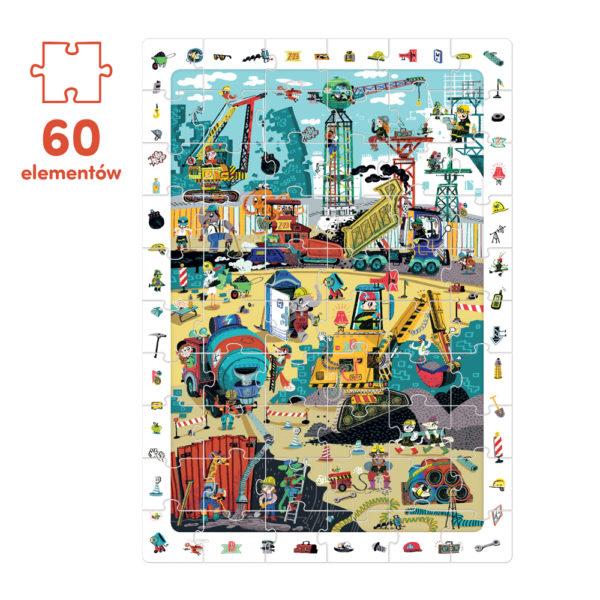 puzzle 60 el budowa i maszyny budowlane