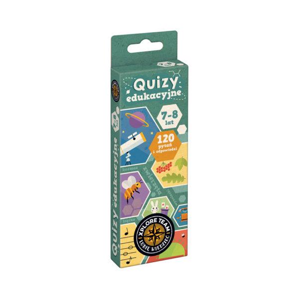 Quizy edukacyjne książeczka 7-8