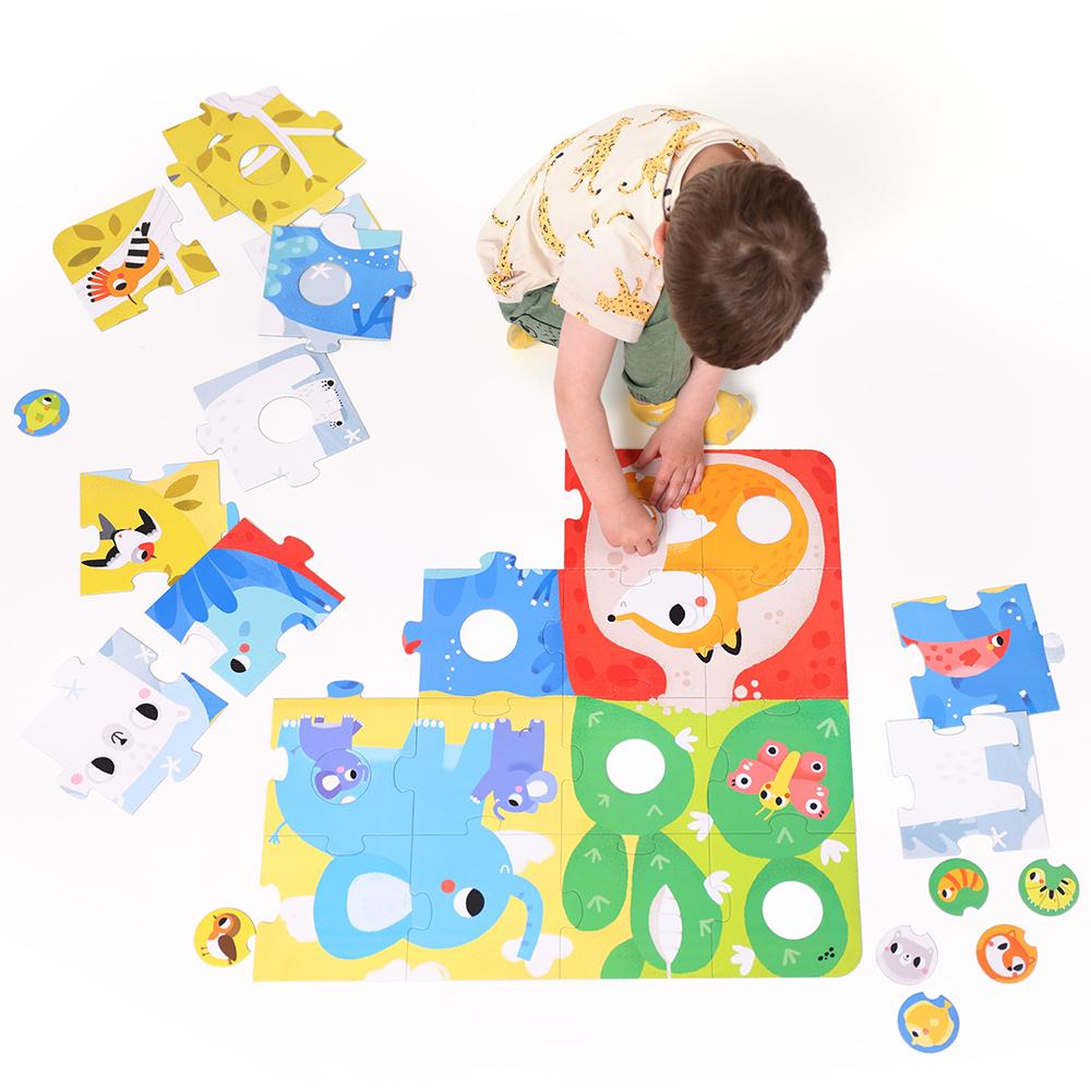 wielkoformatowe puzzle 2+