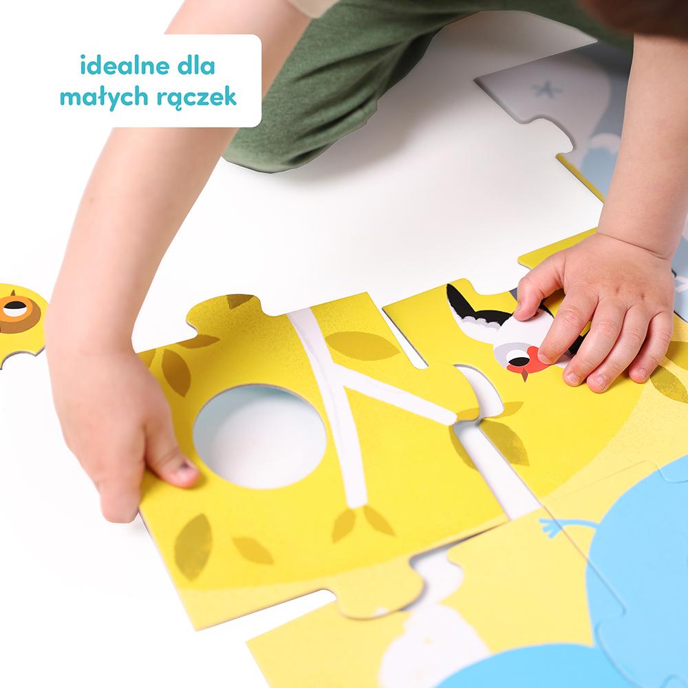 puzzle idealne dla małych rączek