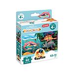 Puzzle panoramiczne Dinozaury miniaturka