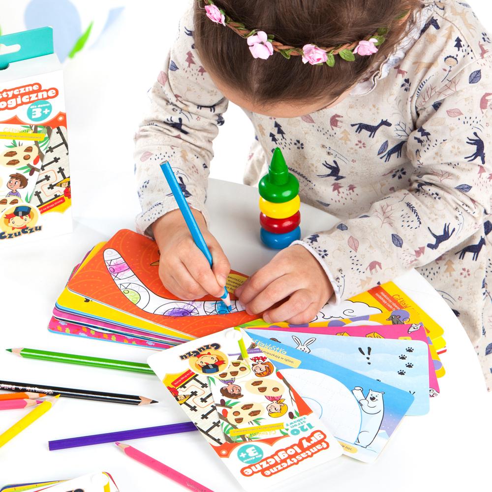 kreatywne zabawy dla trzylatka