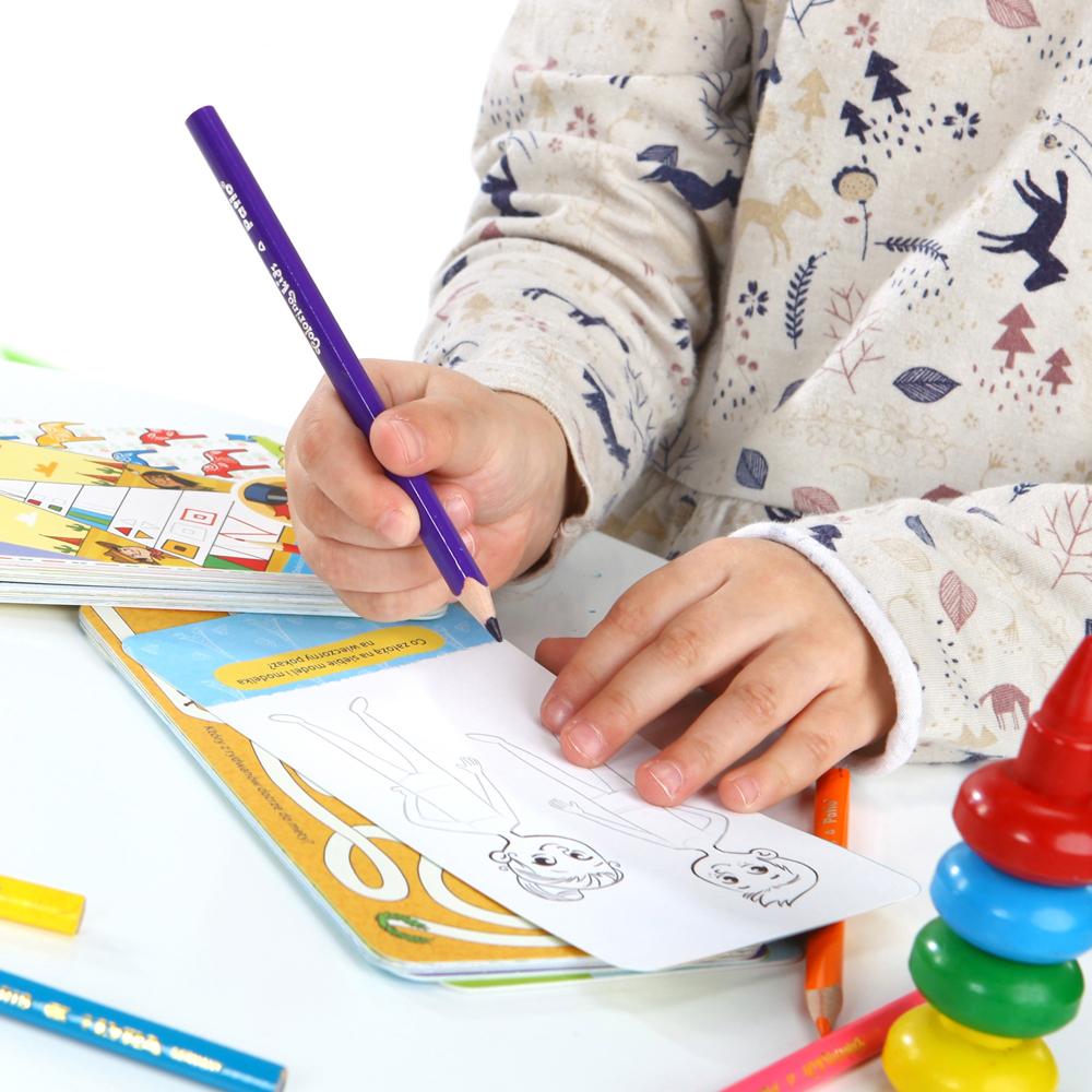 zabawy kreatywne dla dzieci 4+