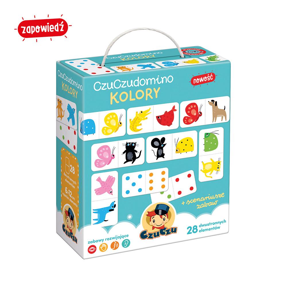 CzuCzu Domino Kolory dla dzieci