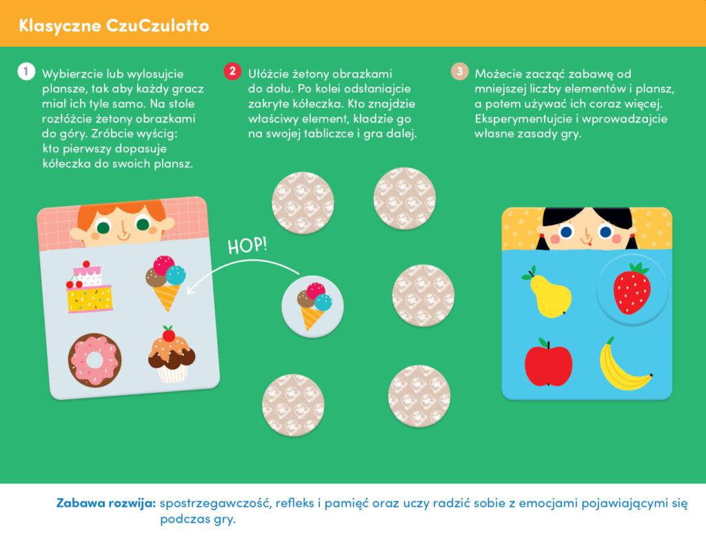zabawy edukacyjne z czuczulotto smacznego