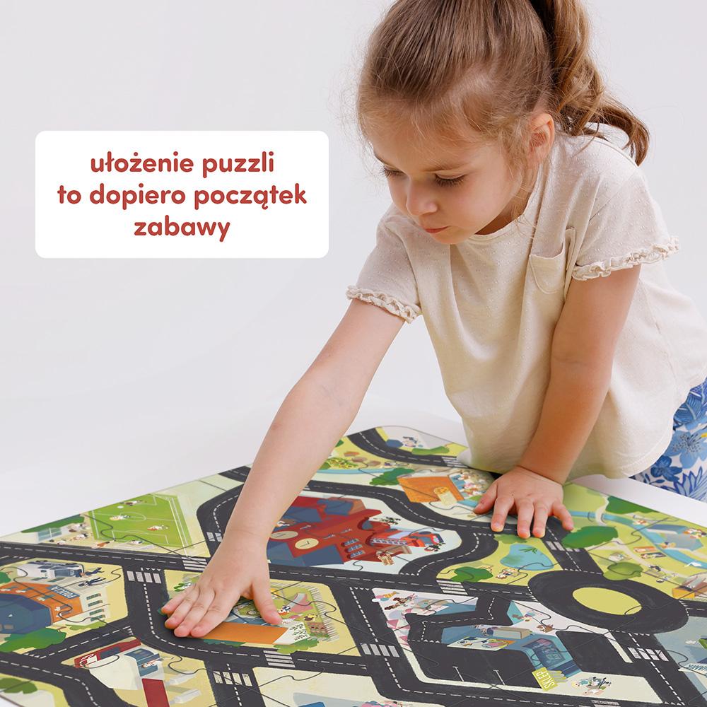 Puzzle droga