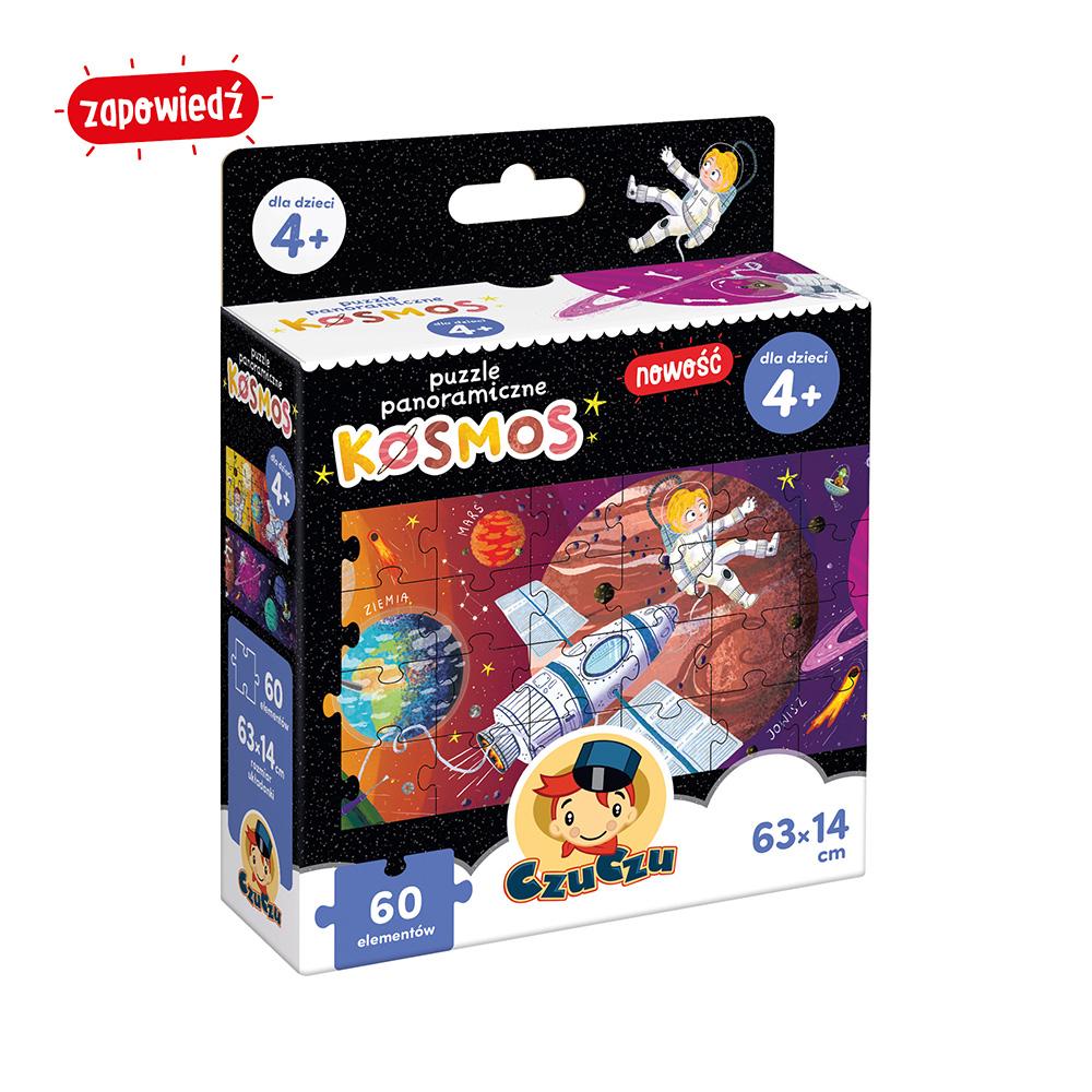 Puzzle panoramiczne Kosmos od CzuCzu dla dzieci 4 lata