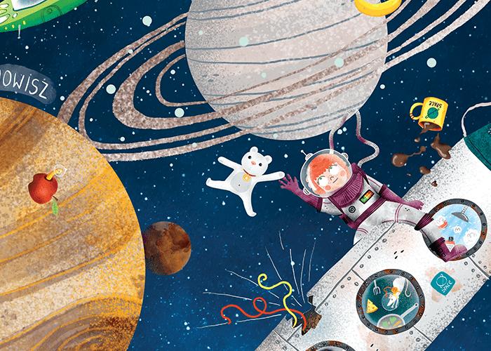 loty w kosmos dla dzieci