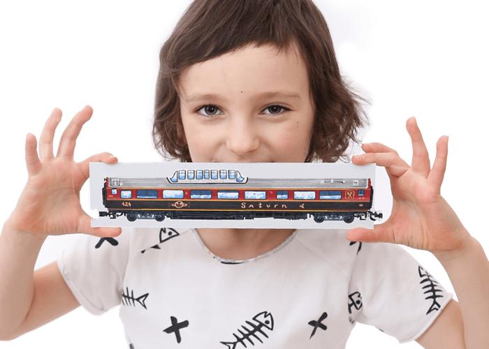 puzzle kreatywne pociągi dla dzieci