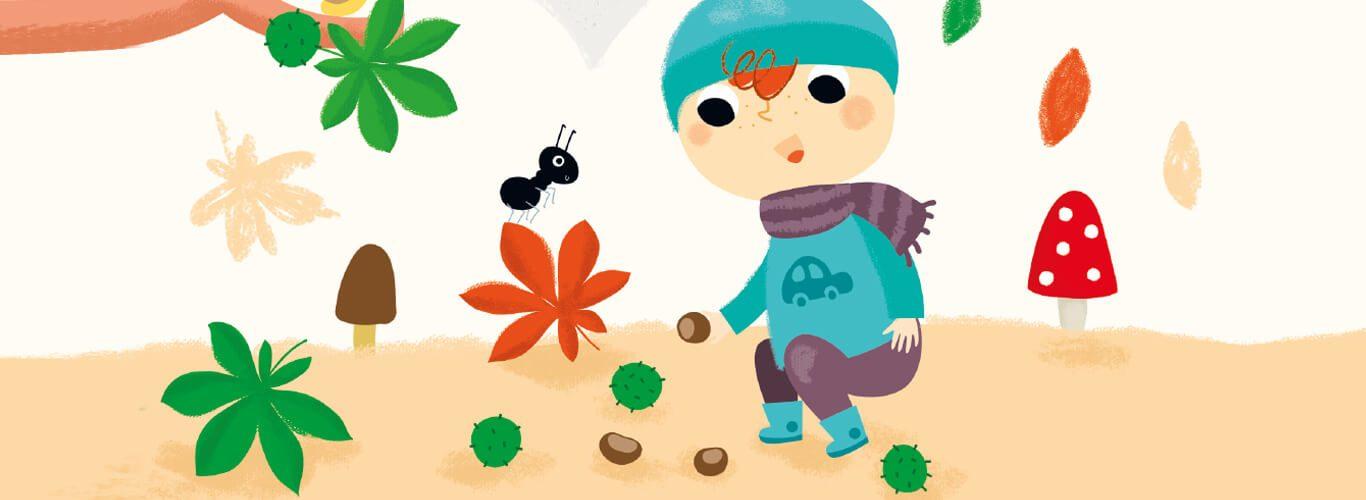 blog cover photo zabawy na jesien